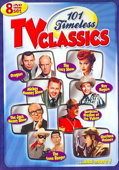 101 TIMELESS TV CLASSICS (DVD)